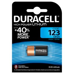 Bild von Duracell High Power Lithium 123