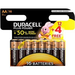 Bild von Duracell AA/LR6 Plus Power Multipack