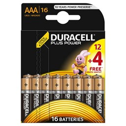 Bild von Duracell AAA/LR03 Plus Power Multipack