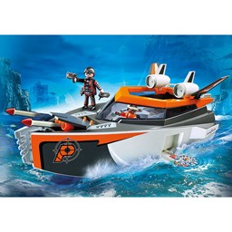 Bild von Playmobil 70002 Top Agents Spy Team Turboship